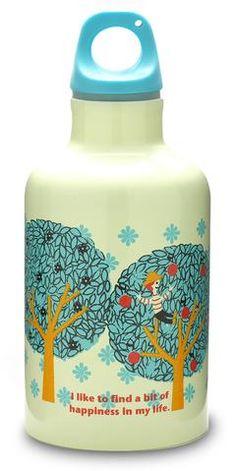 """בקבוק תרמי 300 מ""""ל- עצים צבעוניים / Happy Tree"""