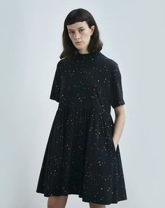 Lazy Oaf Black Spotty Dress - Everything - Categories - Womens
