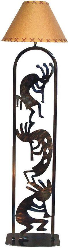 Kokopelli Floor Lamp