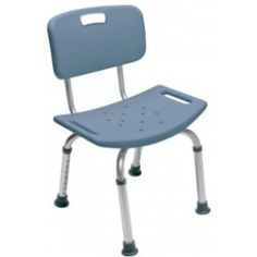 """* Packaged 3/cs;sold by each * HCPCS code: E0245 * Color: Steel Blue * Wt. cap: 350lbs. * Limited lifetime warranty * Anodized aluminum frame is lightweight,durable & rust-resistant * Seat height is adjustable in 1"""" increments * Tool free design * Overall width: 20"""" * Overall depth: 17"""" * Seat width: 20"""" * Seat depth: 12"""" * Min. seat height: 14"""" * Max seat height: 20"""""""