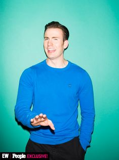 Chris Evans at Disney's D23 Expo
