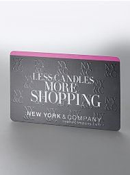New York & Company gift card, there is so much more stuff I could ...