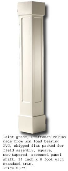 Square Column Trim : Pictures of exterior trim on square posts front porch