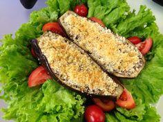 Bateu a fome? Aprenda a fazer uma deliciosa receita de berinjela recheada http://r7.com/IWUr