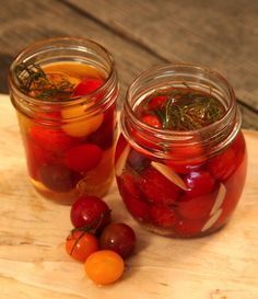 The end of summer and a bumper crop of tomatoes means preservation mode is in full effect at Casa Curtis. If you want to store some of your tomatoes for winter, pickling is a unique idea and it&#82…