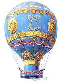 First Hot Air Balloon | ... first hot air balloon in 1783 joseph and jacques were 2 of the 16