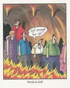 the far side cartoons Far Side Cartoons, Far Side Comics, Funny Cartoons, Funny Comics, Funny As Hell, Haha Funny, Funny Jokes, Hilarious, Funny Stuff