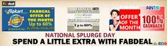 #Take#the#plunge#and#splurge#on#this#national#splurge#day#with#fabdeal# @fabdealindia @fabdealhouse