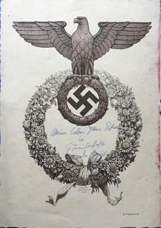 A Nazi Christmas card from Magda Goebbels