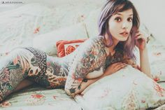 40 Awesome Full Body Tattoos for Women