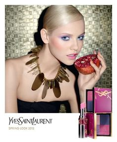 Yves Saint Laurent Spring Look 2012 campaign