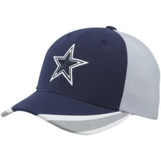 Dallas Cowboys Youth Two Tone Bloomfield Adjustable Hat by NFL. $22.95