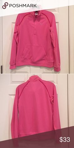 Nike DriFit Half-Zip 💕 Excellent condition, no damage! .::. Questions and offers welcome .::. Bundle & save Nike Jackets & Coats