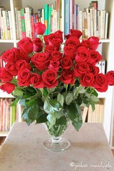 roses rouges フランスでは永遠の愛の象徴