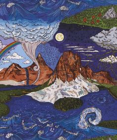 Liberty Art Fabrics Weather Wonderland A Tana Lawn Cotton