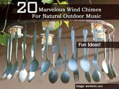 20 Marvelous Wind Chimes For Natural Outdoor Music - Plant Care Today