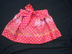 Infant Toddler Girls Shades of Pink Chevron Dot by BeeBeesBoutique, $22.00
