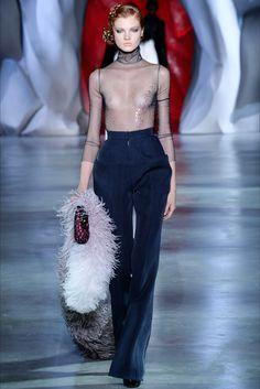 Ulyana Sergeenko Haute Couture Fall 2014.