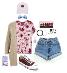 """Ocean City Vacation"" by caroline-weaver on Polyvore featuring Aéropostale, River Island, Converse, Armitage Avenue, Lokai and Essie"