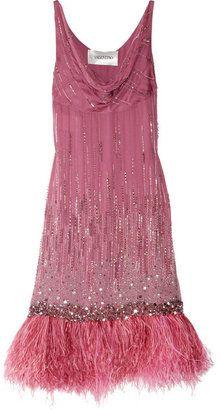 Valentino Silk Chiffon gown, looks so Vintage Outfits, Vintage Dresses, Vintage Fashion, Fashion Moda, Fashion Week, Pink Dress, Dress Up, Estilo Glamour, Mode Rose