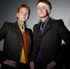 "@GraceAndKevin6 We got Fred and George! Which ""Harry Potter"" Duo Are You And Your BFF? Comment yours!"