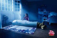 """Get rid of your bad dreams!"" Disneyland ad."