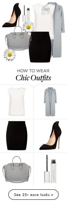 """Untitled #17"" by sophiachromova on Polyvore featuring New Look, Finders Keepers and Givenchy"