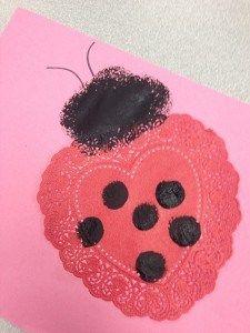 Valentine's crafts for preschoolers. #valentine's day craft for kids