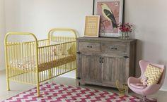 Cunas de hierro para crear un ambiente infantil de estilo vintage