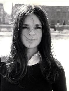 """Ali MacGraw - """"I watch Love Story every fall. Ali MacGraw's Jenny Cavalleri is the perfect dark brunette—I love her center-parted hair and bold brow."""" Alexandra Macon, Vogue.com Managing Editor"""