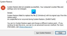 System Restore Microsoft Software, System Restore, Pc Repair, Original Copy, Error Code, Windows System, Free Space