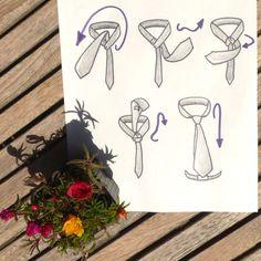 Comment faire un noeud de cravate double (le Windsor)