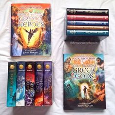 Full Percy Jackson collection