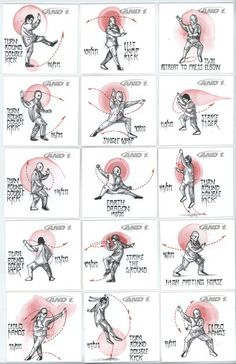 "Jason Graham illustrated 106 Tai Chi Poses out of 212 for ""And 1 Shoes"". The drawings are ink and watercolor on card stock. And 1 is making 212 pairs. Tai Chi Chuan, Tai Chi Qigong, Karate, Chinese Martial Arts, Mixed Martial Arts, Martial Arts Techniques, Art Techniques, Taekwondo, Kung Fu"