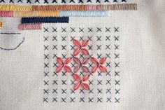 Blog | Karen Barbé | Textileria  Awesome embroidery and stitching work!