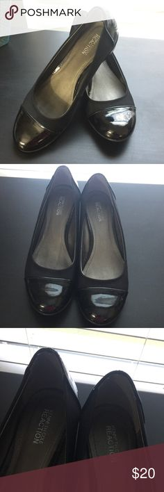 Kenneth Cole Patent Loafers Worn just a few times.  Haven't been able to wear since ankle surgery.  Cleaning closets. #JEWELRY #POSHMARK #BLING #RODEO #FASHIONISTA #COWGIRL #SOUTHWEST #ARIAT #AZTEC #WESTERN #CHIC #FAITH #RUNWAY #CROSS #TRIBAL #BOHO #KENDRA #NAVAJO #STELLA  #SOUTHERN #SPARKLE #CHIC 💞💞 Kenneth Cole Reaction Shoes Flats & Loafers