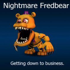 Adventure Nightmare Freadbear