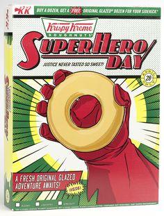 Krispy Kreme SuperHero Day Pack on Packaging of the World - Creative Package Design Gallery