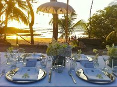 La Luna is the best toes in the sand sunset in Nosara, Costa Rica <3 #nosara #food