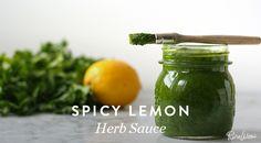 Spicy Lemon Herb Sauce