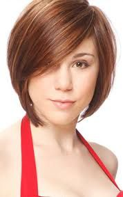 short hairstyles for plus size women - Google Search