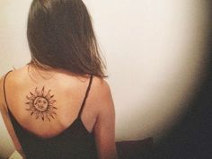40 Superb Sun Tattoo Designs & Meaning - Bright Symbol of The Universe