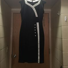 price drop New formal dress New black and white formal dress with tag never worn before Dresses