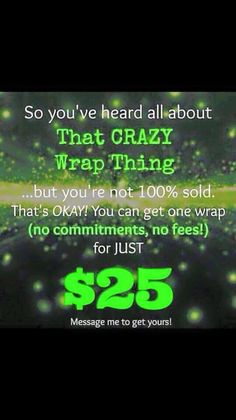 Get one for free, 1/$25 or 4/$59 ask me how or comment below