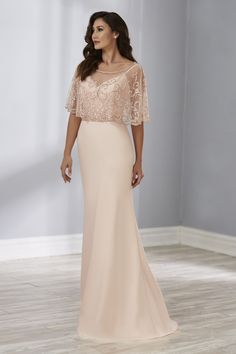 a5bb629f66f5 Christina Wu Elegance 17888 is an elegant two pieces mother of the bride  gown that has a sweetheart neckline and narrow straps, and a separate sheer  beaded ...