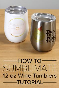 In this tutorial, you will learn how to make custom wine tumblers with sublimation using two methods - silicone wraps and heat shrink bags - with both a conventional oven and a conveyor oven.