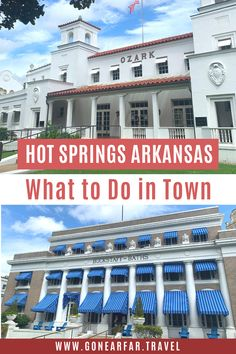 Only passing through Hot Springs Arkansas? Here's a Hot Springs Itinerary to make sure you see all the highlights in just one day. | Arkansas Travel Tips | Road Trip USA | Arkansas Road Trip | Arkansas Travel | Arkansas Photography | Arkansas Beautiful Places | Arkansas Travel Destinations | Arkansas Outdoors | Arkansas Travel Tips | Hot Springs Arkansas Day Trip | Arkansas Itinerary | #hotspringsarkansas #arkansasroadtrip #arkansas 1 Day Trip, Road Trip Photography, Hot Springs Arkansas, Road Trip Essentials, Travel Destinations, Travel Tips, Most Beautiful Cities, Instagram Worthy, Road Trip Usa