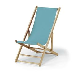 Telescope Wood Cabana Beach Chair - Beach Chairs at Hayneedle ($129)