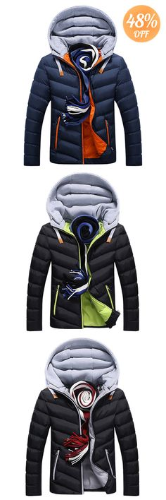 2b9a9849b Meet this Stylish Hooded Jacket. 2018 New Trend for Men. Click to See More