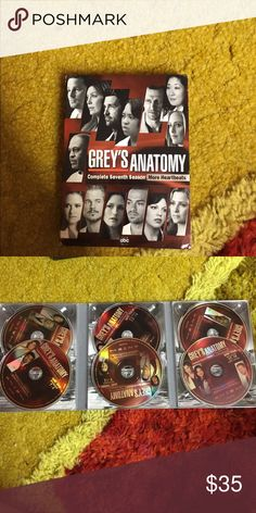 Grey's Anatomy Season 7 I have only watched this season once! Feel free to make an offer or bundle items! Accessories